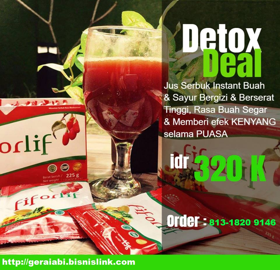 fiforlif herbal pelancar buan air besar